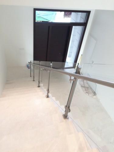 stainless steel glass railing rivet