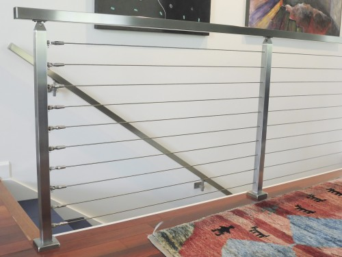 stainless steel cable railing handril