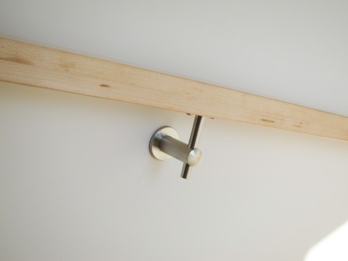 stainless steel wall bracket handrail