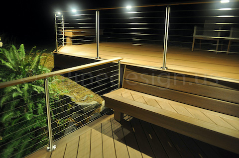 led cable railing