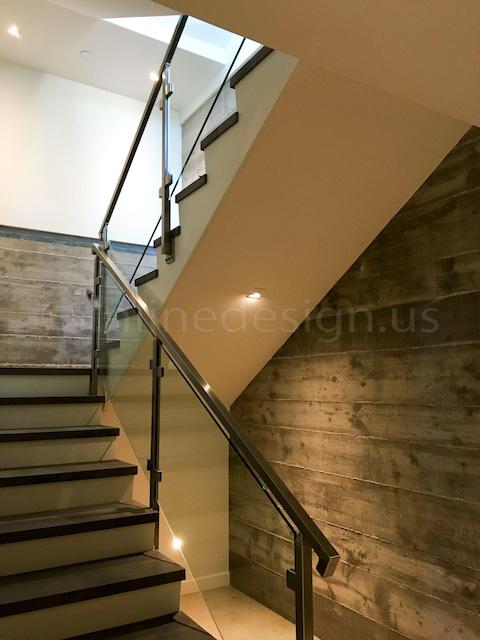 led modern railing