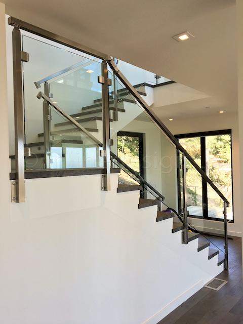 side mounted railing