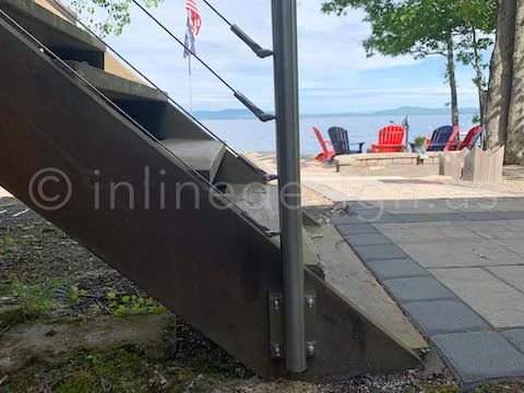 stairs cable railing stainless