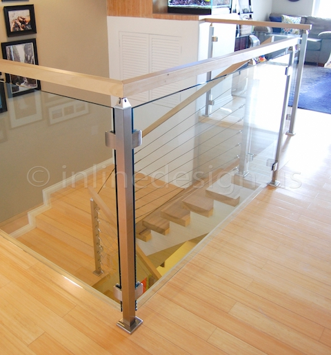 stainless steel cable railing bracket