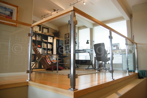 stainless steel cable railing modern