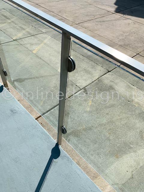 arcadia half clamp glass