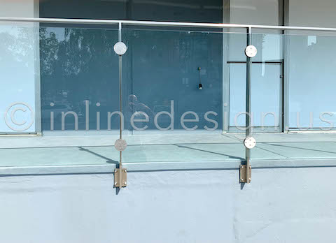 glass clamps arcadia panels