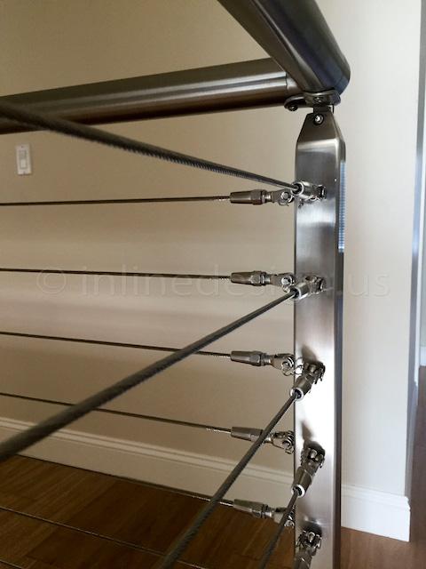 corner railing post