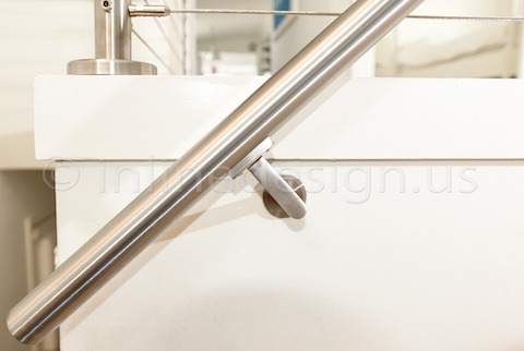 stainless steel cable railing san francisco handrail
