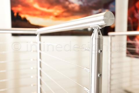 stainless steel cable railing san francisco sleek