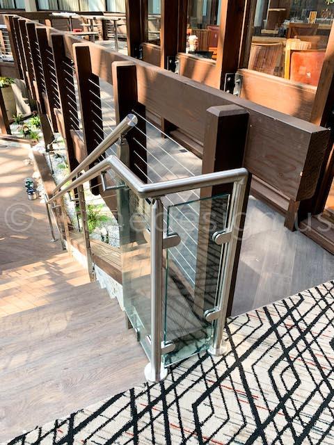 glass railing bracket