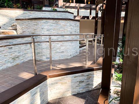 interior cable railing posts