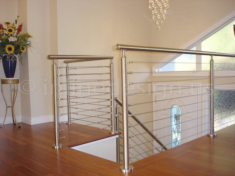 stainless steel railing cable home remodeling