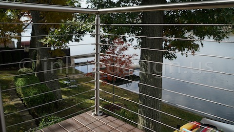 stainless steel cable railing cloud