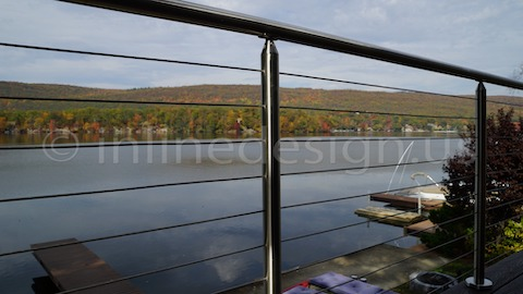 stainless steel cable railing renovation