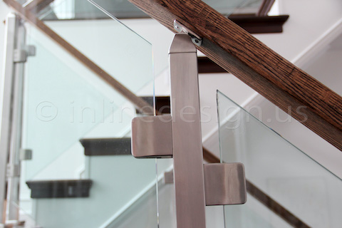 glass railing beautiful