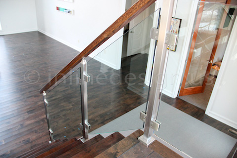 glass railing house