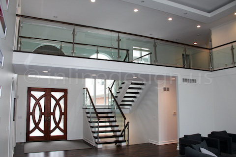 glass railing panoramic