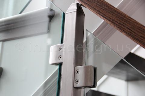 glass railing renovation