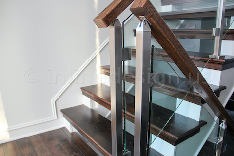 glass railing square