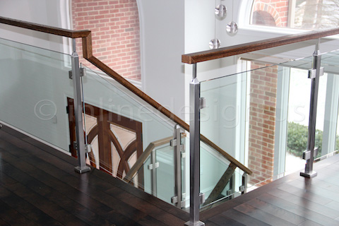 glass railing window