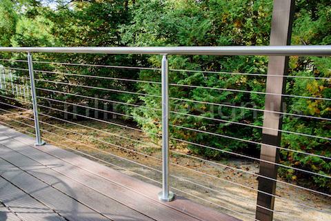 deck guardrail