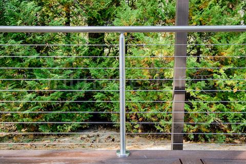 wire handrail