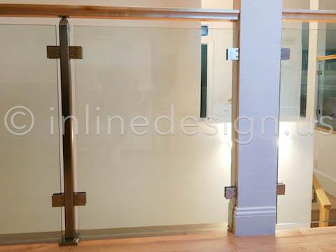guardrail glass railing
