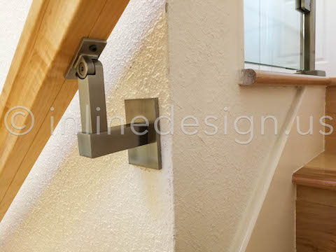 wood handrail bracket