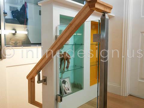 wood top handrail