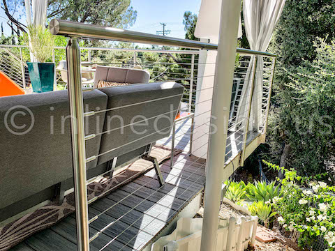 close view side mount railing
