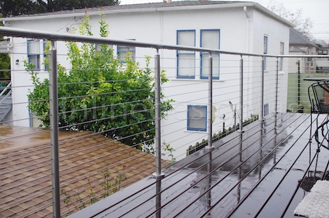 stainless steel cable railing california