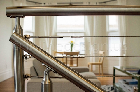 stainless steel railing cable srairs zoomed