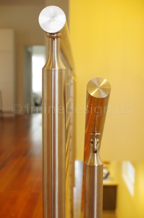 stainless steel railing cable srairs