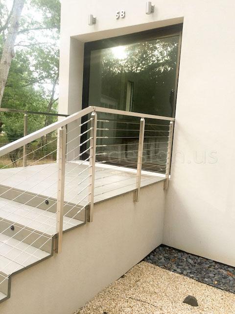 cable railing door