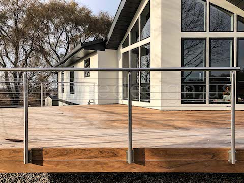 Deck railing rideas