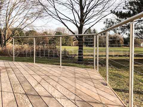 railing porch handrail