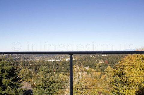 cable railing balcony