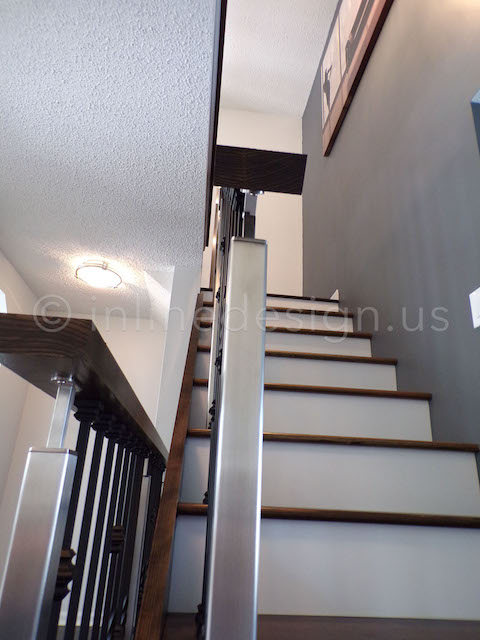 Stairs Square Posts Railing