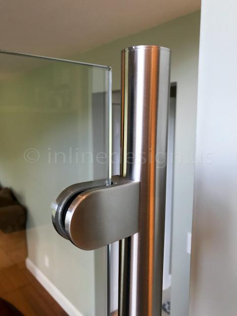 glass railing end cap