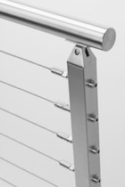 stainless steel cable railing san francisco