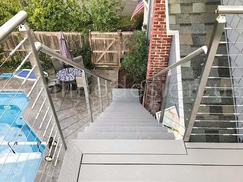 deck railing planters