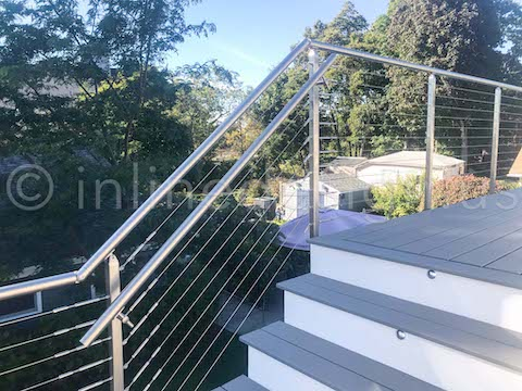 exterior stair railing systems