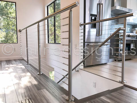 beautiful guardrail cable railing