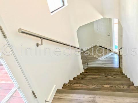 beautiful stairwell railing