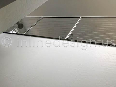 below view railing guardrail