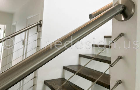 handrail side view zoom