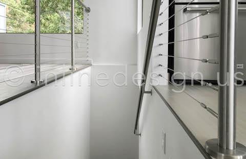 inner stairwell railing