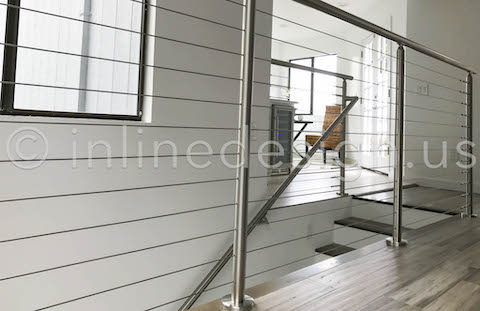 round cable railing