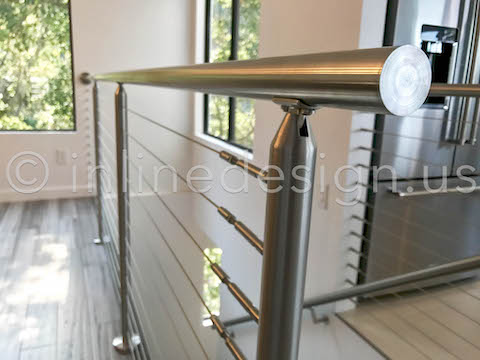 side view cable railing